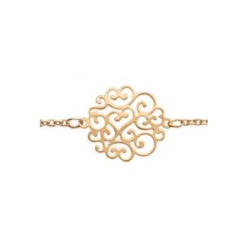 Collier et/ou bracelet en plaqué-or. 1 ethnique.