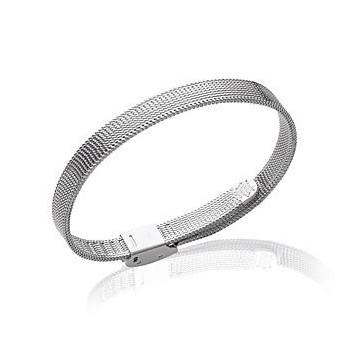 Bracelet en acier argenté. 62076721.