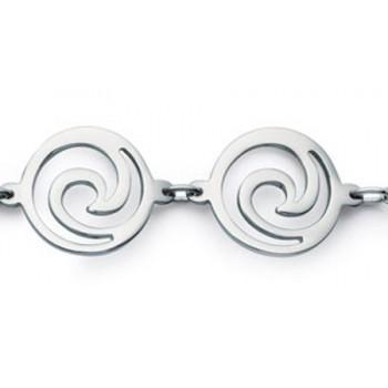 Bracelet spirales en acier 316L. 380959.