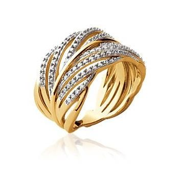 bague or et brillants
