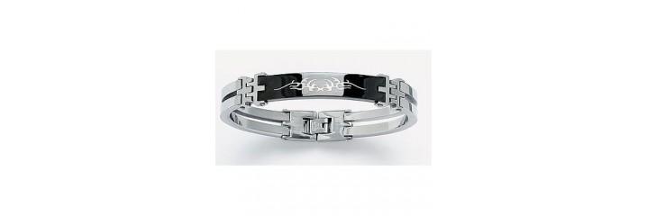 Bracelets et colliers en acier pour homme