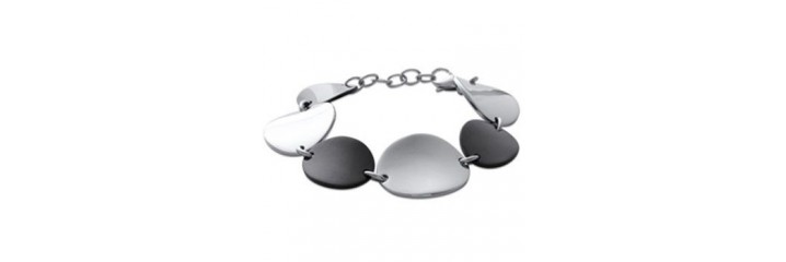 Bracelets ou colliers en acier souple